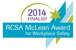 RCSA McLean Award for Workplace Safety