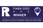 2020 TIARA Award Winner - Back Office Support Team of the Year Award